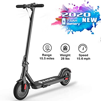 Amazon.com: Electric Scooter Adults,8.5 Inch Solid Tire,Up ...