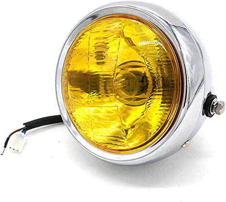HONGPA 5.75 inch Round Motorcycle Headlight lampshade for General Motorcycle Headlights