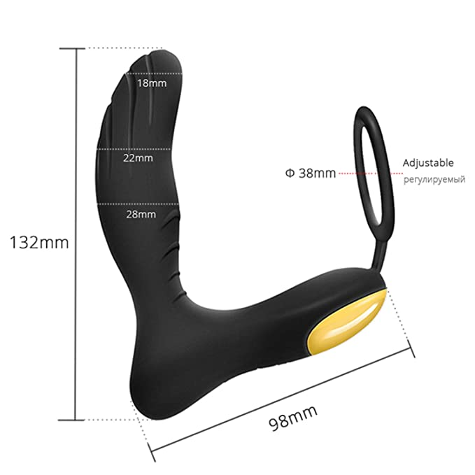 Amazon.com: Wireless Prostate Massager Vibrator Silicone Anal Plug USB Rechargeable Sex Toys For Men Erotic Gay Toys G Spot Waterproof: Musical Instruments