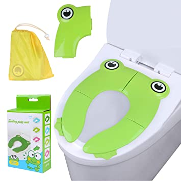 Brilliant Youth Union Travel Folding Portable Potty Training Toilet Seat Cover Liner Upgrade Non Slip Dailytribune Chair Design For Home Dailytribuneorg