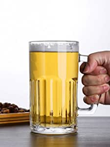 KAILIDE Jarras De Cerveza Vasos De Cerveza Cerveza Espesante con Mango Vaso Cerveza Cerveza Casa Bar Cocina Leche Bebida Jugo,1 Jarra De Cerveza: Amazon.es: Hogar