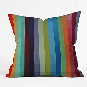 Deny Designs Madart Inc. City Colors Throw Pillow, 26 x 26