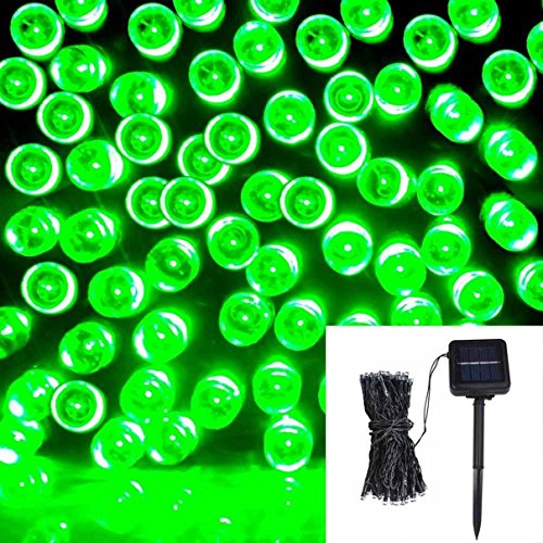 1Pc Profound Modern 200x LED Solar Power Nightlight Romantic Tree Outdoor Lamp Xmas Props Colors Green