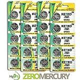 2032 Battery CR2032 3V Lithium Coin Cell Battery Type : CR2032 / DL2032 / E ....