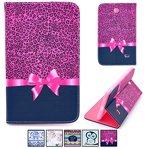Galaxy Tab 4 7.0 Case,UUcovers Premium Leather Flip - Galaxy 3 Tablet Case 7 Inch Bling