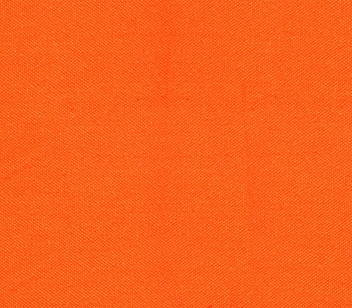 Canvas Duck Fabric 10 oz Dyed Solid ORANGE / 54