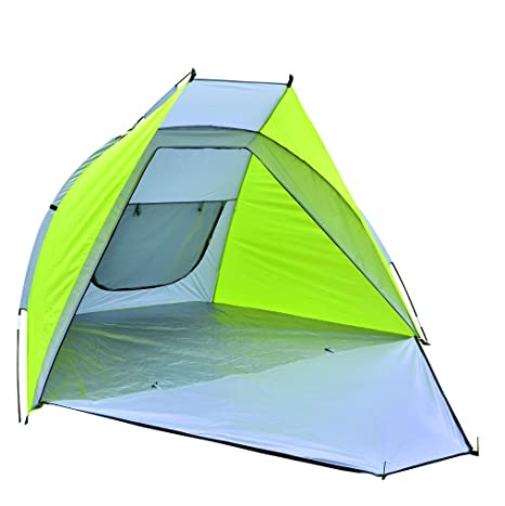 more photos 57c8f cc532 NTK Beach Tent Sun SHELTER 7.5X4.5FT PLAYERO Day Tripper Beach, Park and  Backyard Shade, Easy Assembly, Durable UV+50 Fabric and Full Privacy Option  ...