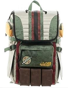 Cosplay Creative B-Fett Hunter Backpack J-Fett Bag Outdoor Knapsack (B-Fett)
