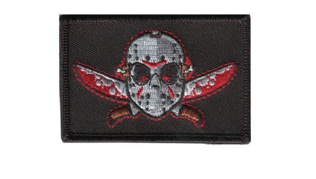 Titan One Europe Tactical Jason Friday Killer Crystal Lake Horror Morale Gear Patch Tactique /Écusson Brod/é