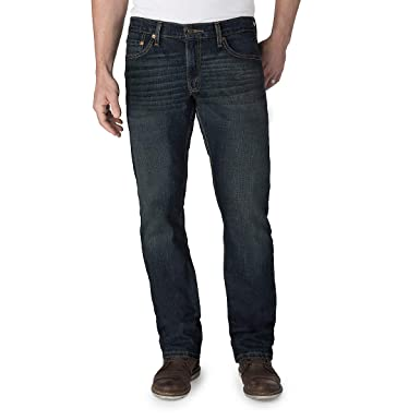 1b492c21 Signature by Levi Strauss & Co. Gold Label Men's Straight Fit Jeans,  Bigfoot,