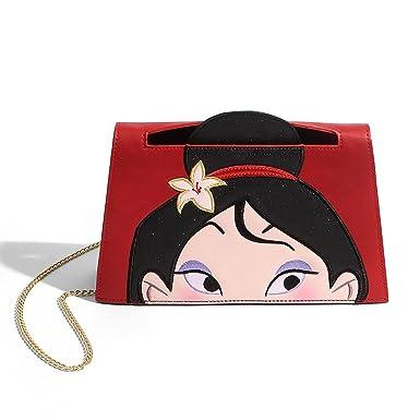 Amazon.com: Danielle Nicole X Disney Mulan Crossbody Bolsa ...