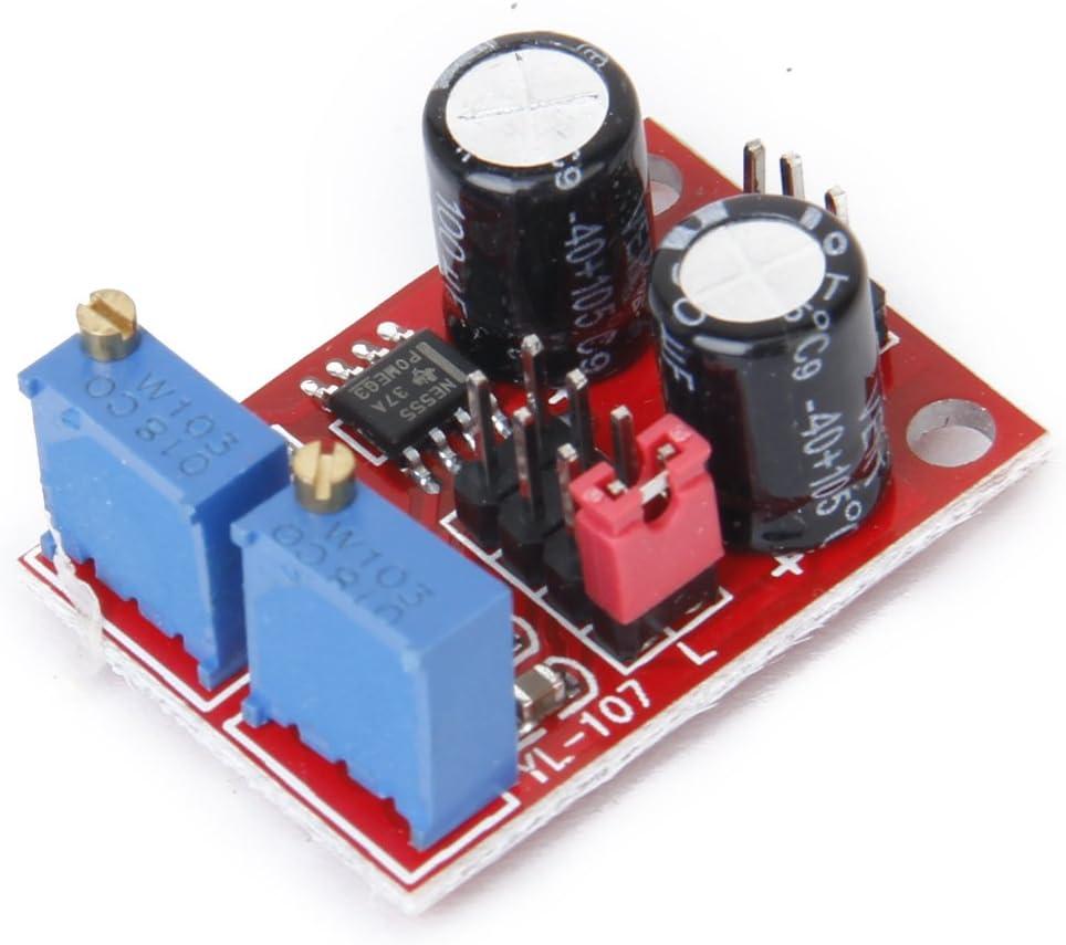 Ne555 Frequenz Kapazitaet Einstellbare Modul Rechtecksignalgenerator Elektronik