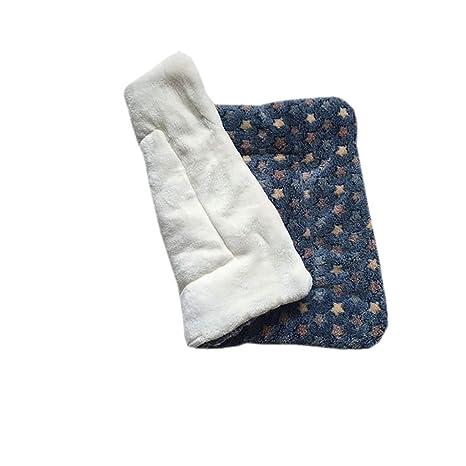 Cama de perro gato manta grande XXL colchoneta suave de invierno de franela lavable