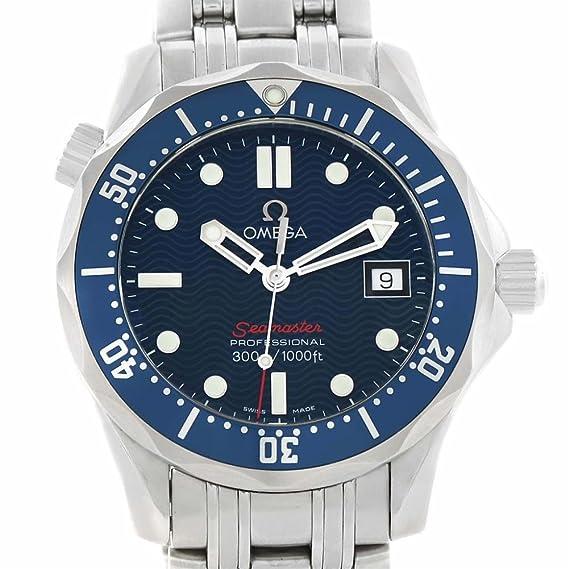 Omega Seamaster cuarzo Mens Reloj 2223.80.00 (Certificado) de segunda mano: Omega: Amazon.es: Relojes