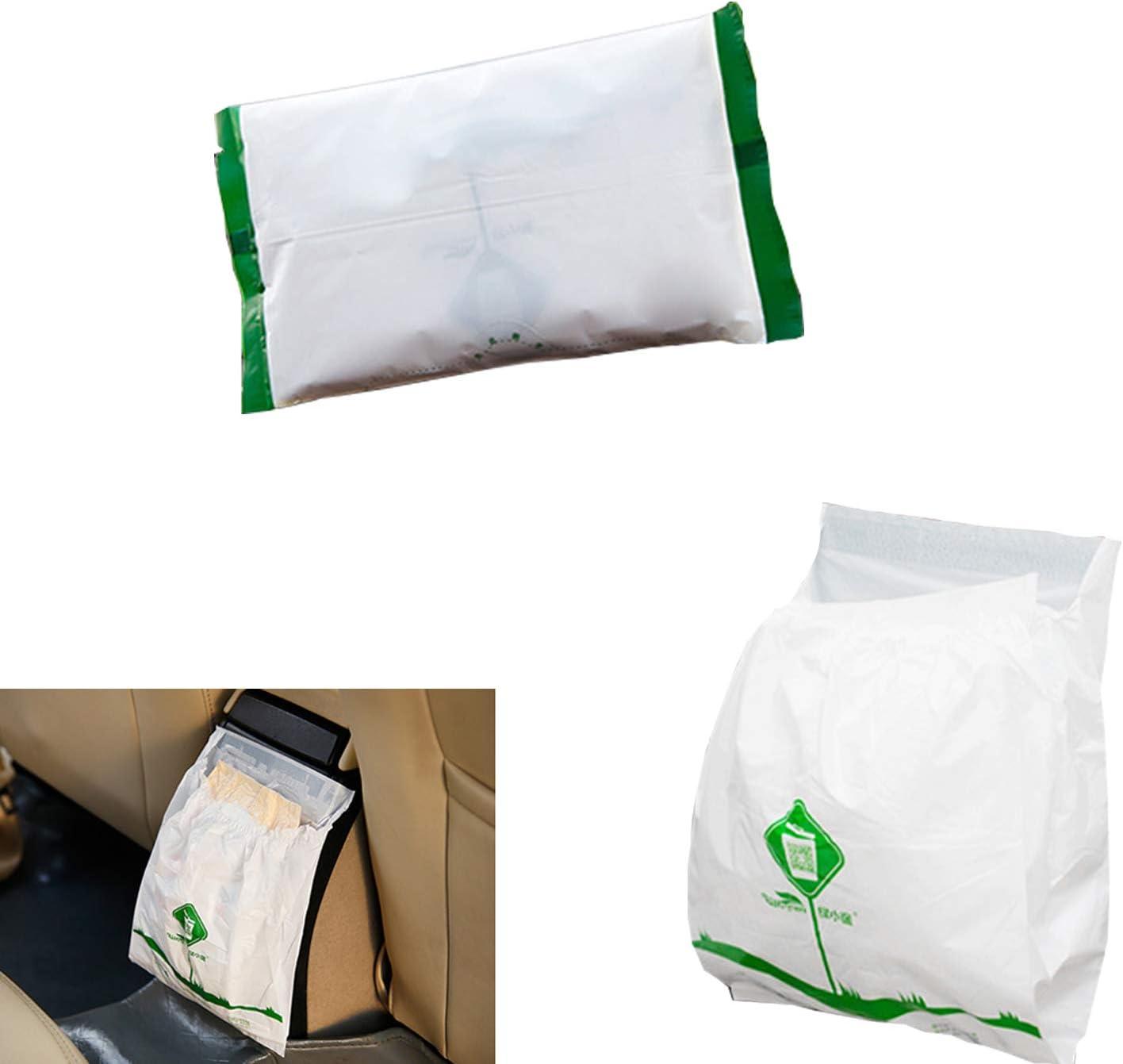 PME PIVOFUL MOBILE ENHANCEMENT 30pcs Car Trash Bag Blue Biodegradable /& Compostable Garbage Bag Rubbish Bin Bag Car Trash Bin Gag Disposable Container Bag for Office Babyroom Bathroom Study Room