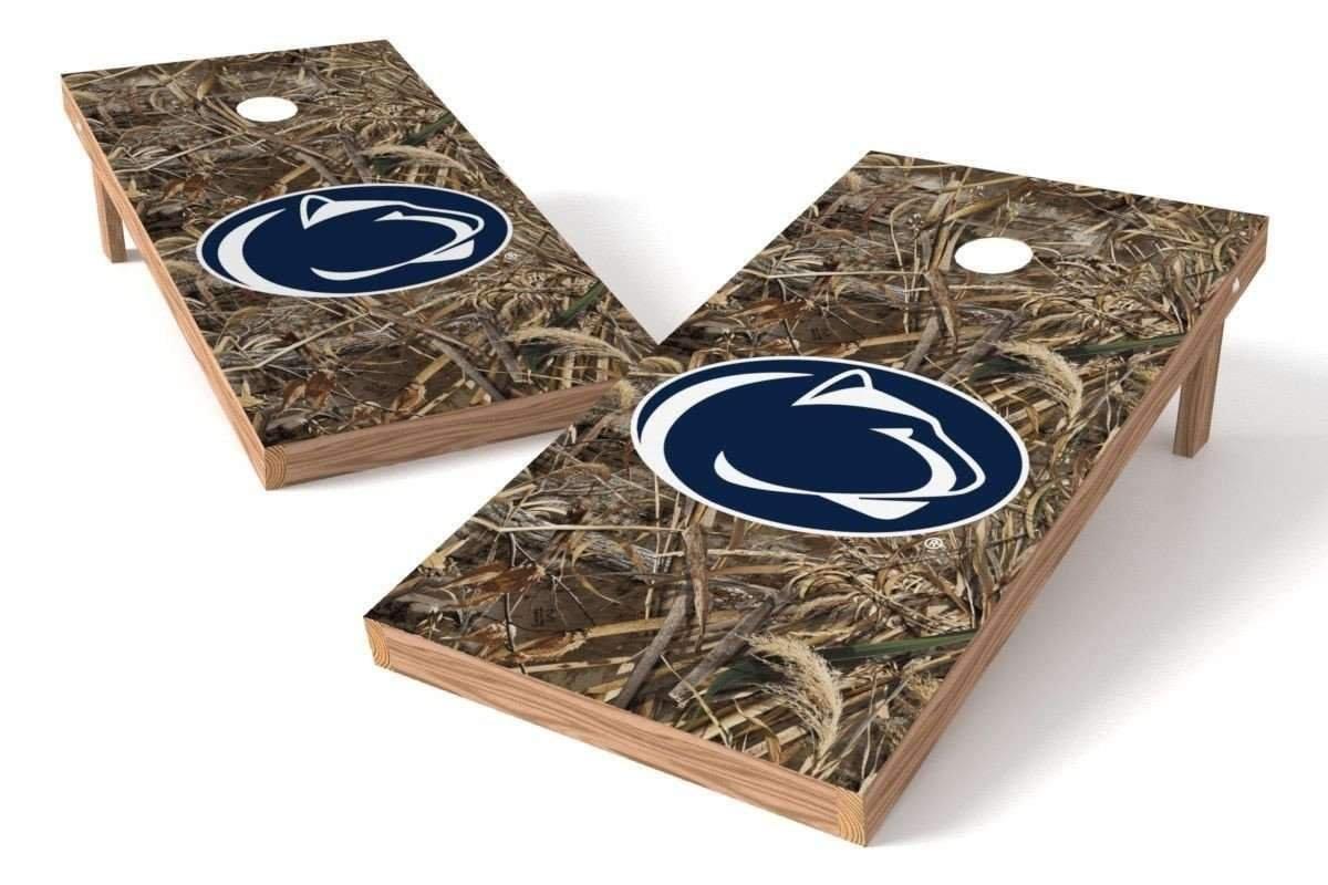 Penn State Nittany Lions 2x4 Cornhole Board Set - Realtree Max-5 Camo