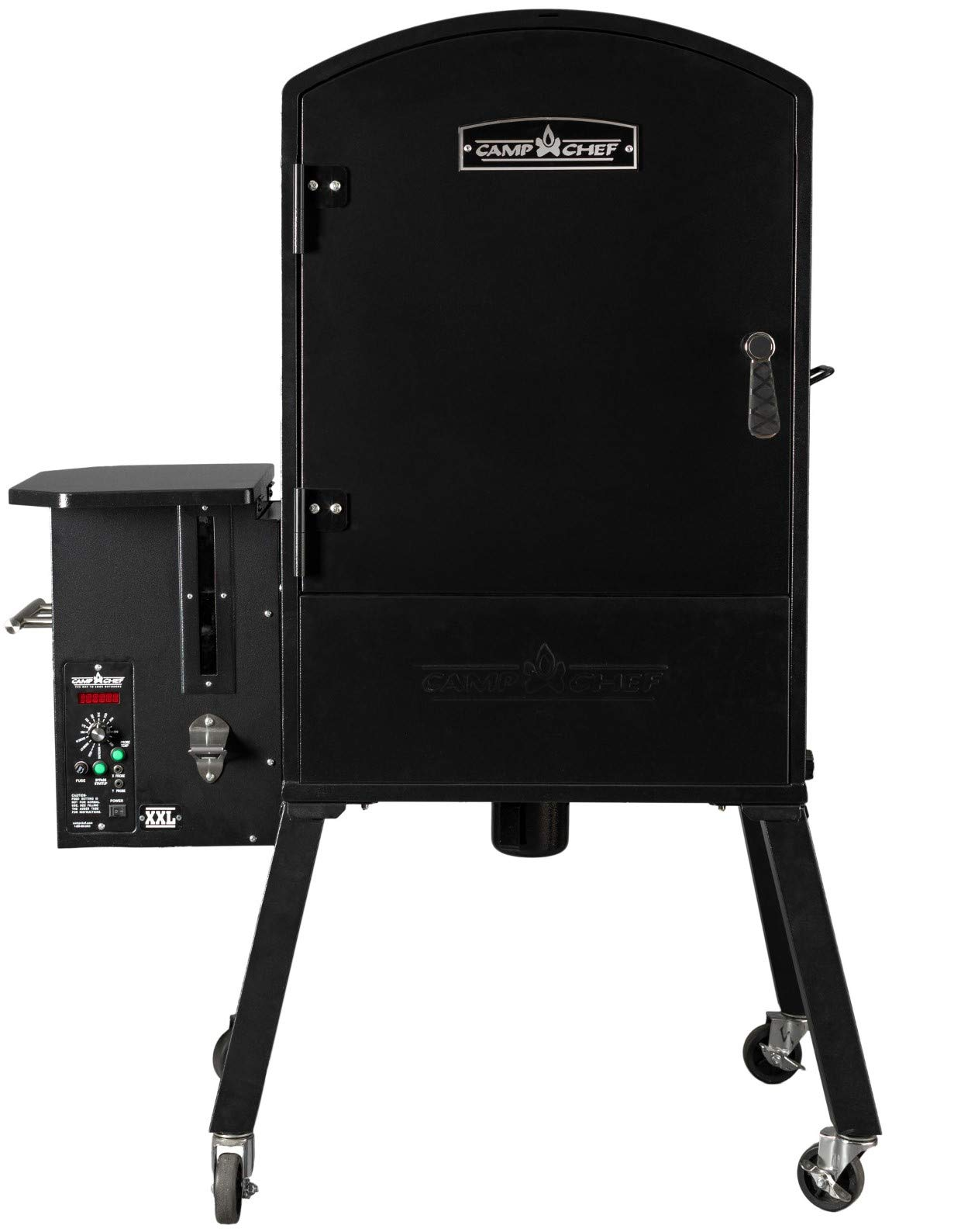 Camp Chef XXL Vertical Pellet Grill and Smoker (PGVXXL) - Smart Smoke Technology - Patented Ash Cleanout - Digital Display - Pellet Purge System by Camp Chef (Image #3)