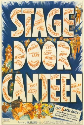 Amazon.com: Stage Door Canteen (1943) 27 x 40 Movie Poster - Style A:  Lithographic Prints: Posters & Prints
