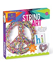 [US Deal] Save on Craft-tastic – String Art Kit – Craft Kit Makes 3 Large String Art Canvases – Peace Sign Edition. Discount applied in price displayed.
