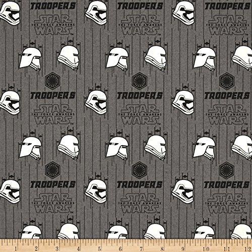 CAMELOT Fabrics Star Wars The Force Awakens Storm Trooper Ir