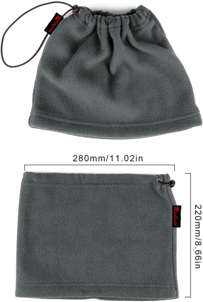 cortavientos forro polar Calentador de cuello 3/en 1,/poli/éster Richera unisex