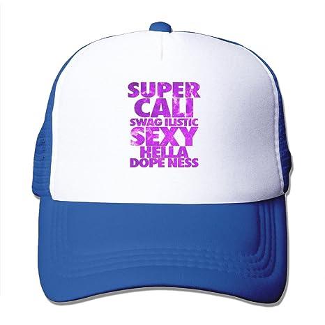 8d7ff959b4892 SUPER CALI SWAGILISTIC SEXY HELLA DOPENESS Sport Unisex Adjustable Trucker  Hats mesh Hats  Amazon.ca  Clothing   Accessories