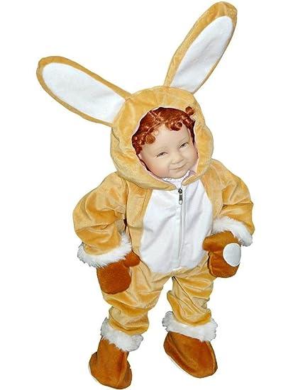 J44, tamaño 2-3 años del conejo del traje del traje del ...