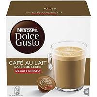 Nestle 雀巢 DOLCE GUSTO 牛奶咖啡 脱因咖啡, 16个 (3盒装- 共48个, 48 份)