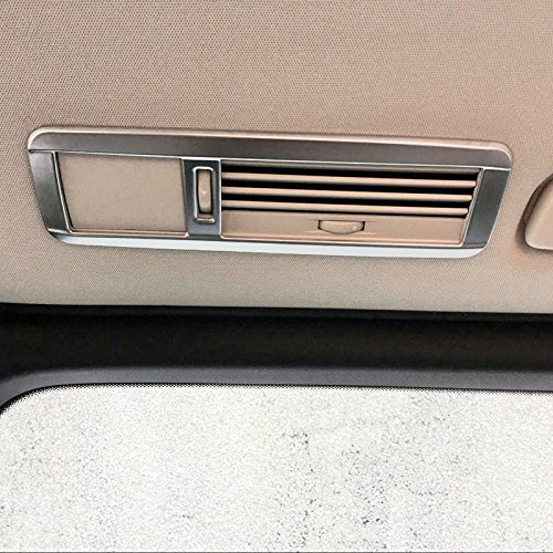 ABS mat Int/érieur Toit d/ôme arri/ère Climatisation Vent Outlet Cover Trim 4 pcs pour accessoire de voiture BZVT