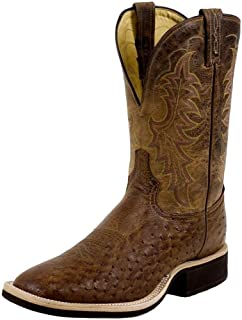 product image for Tony Lama Men's Griffon Smooth Quill Ostrich Cowboy Boot Square Toe