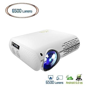 Cine en casa Proyector de Video para Full HD 4K * 2K Proyector de ...