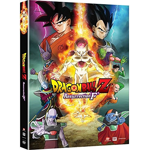 New Dragon Ball Z: Resurrection F Movie DVDs