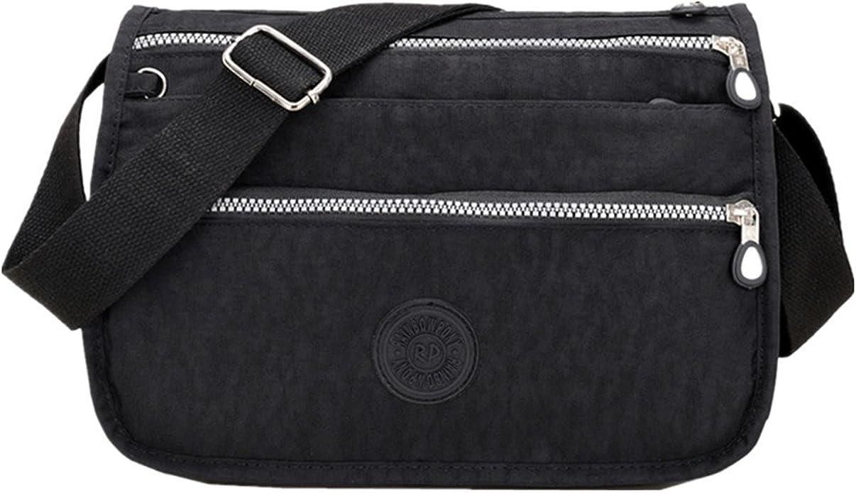Women Ladies Nylon Shoulder Bag Tote Purse Handbag Messenger Crossbody Satchel