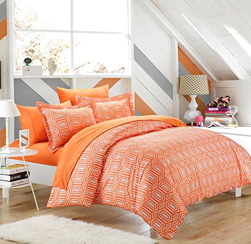Rise Amp Shine Orange And White Comforter Amp Bedding Sets