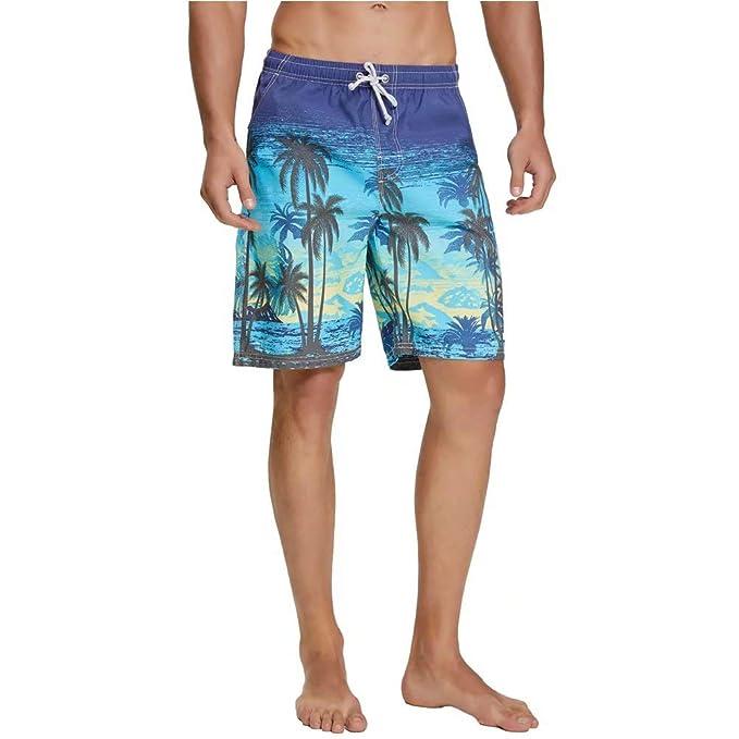 3bf9b37186 nuosife Swim Trunks for Men Bathing Suit Swimwear Shorts Quick Dry  Lightweight