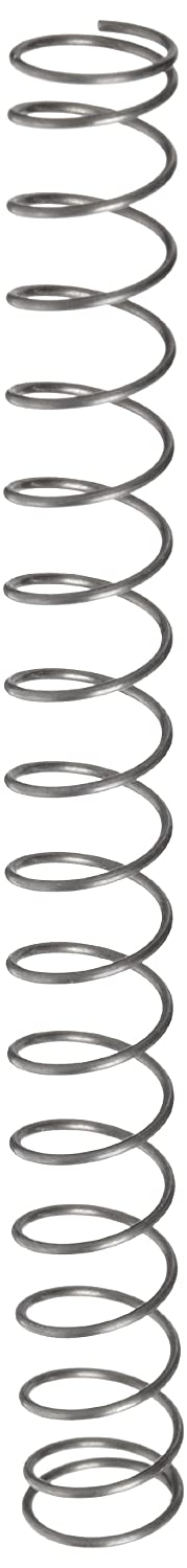 Music Wire Compression Spring Steel Metric 6.8 mm OD 0.5 mm Wire Size 17.4 mm Compressed Length 65 mm Free Length 6.58 N Load Capacity 0.14 N mm Spring Rate Pack of 10