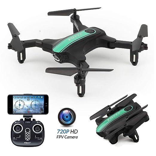 SONADY Sony dron Plegable, cámara WiFi de 0,3 MP/2 MP ...