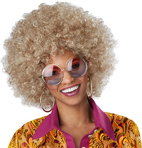 California Costumes Women's Dirty Blonde Foxy Lady Wig, One -