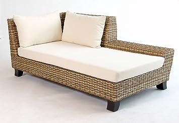 Rattan Sitzmöbel luxus indoor rattan lounge st tropez rattanliege rattan liege