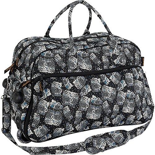 Laurel Burch Polka Dot Cats Wheeled Duffel Bag (Multi)