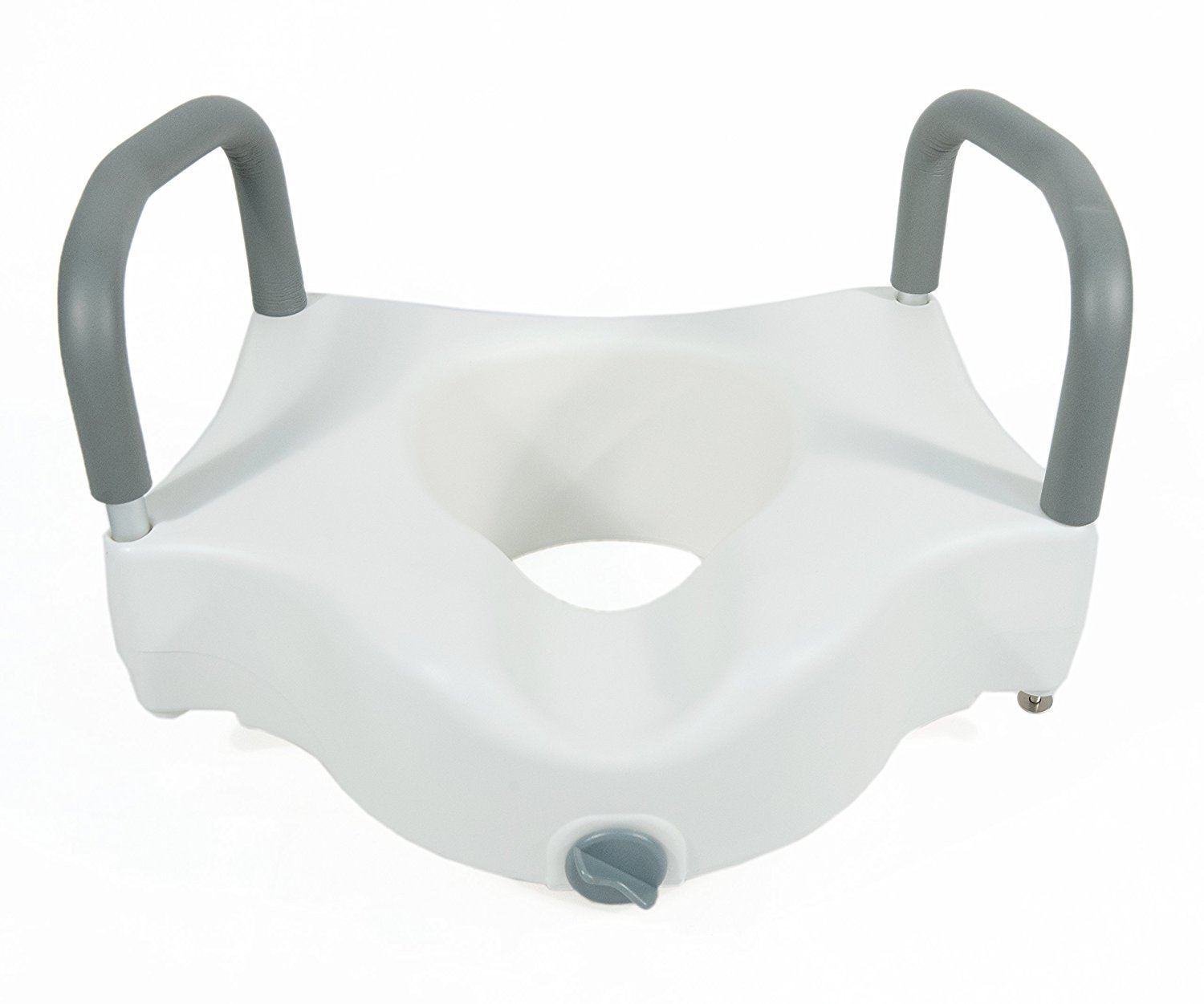 AdirMed Raised Toilet Seat with Removable Arms and Lock