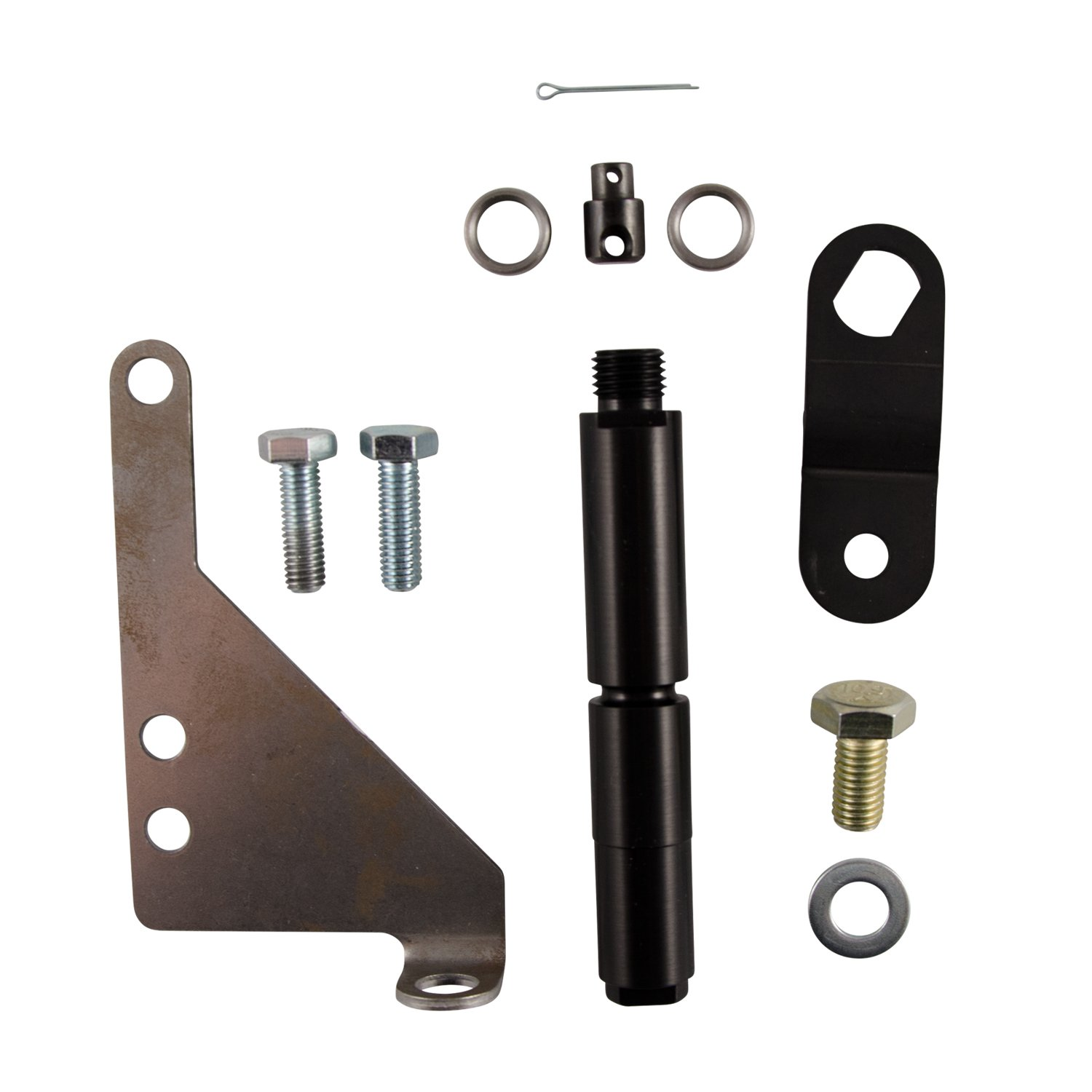 B&M 40505 Bracket and Lever Kit for Ford E40D/4R100 Automatic Transmissions by B&M