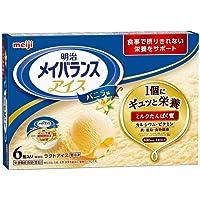 明治 メイバランスMiniLアイス バニラ味 80ml×6個