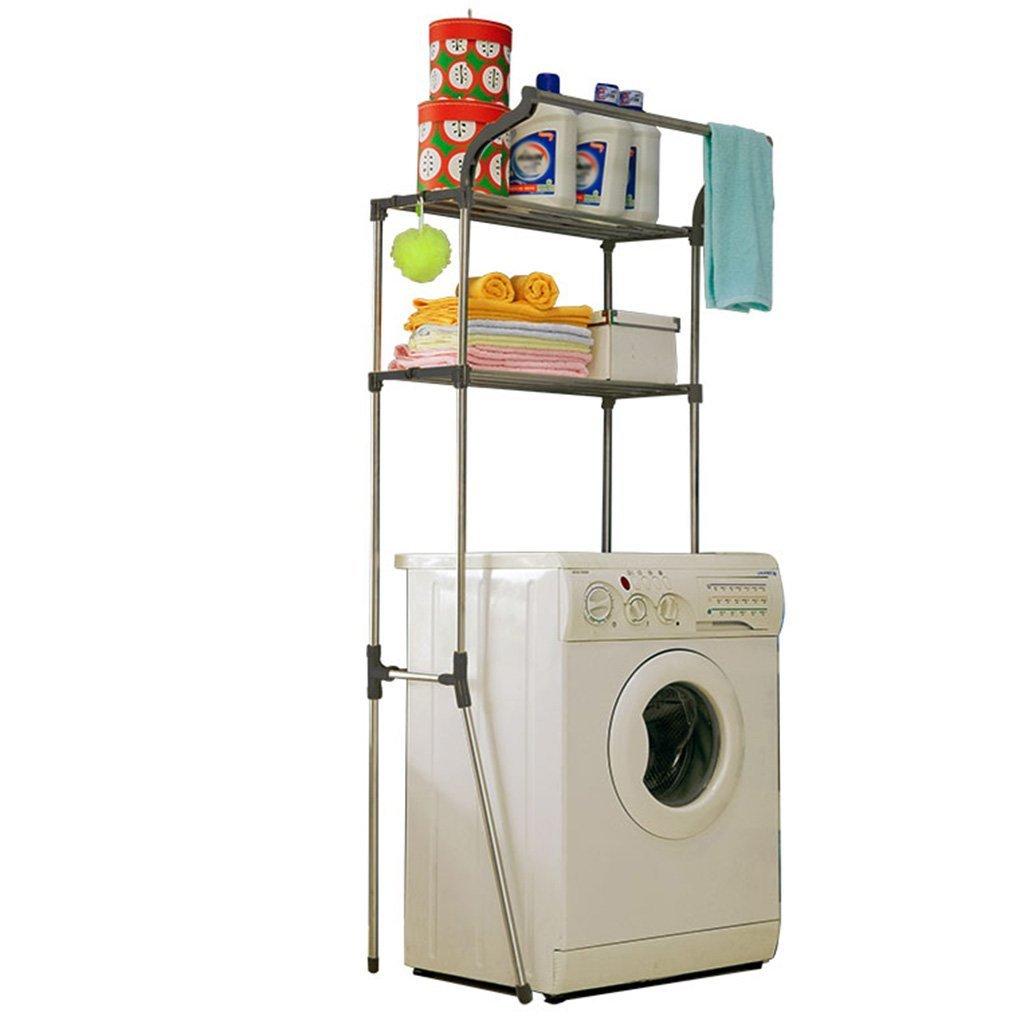 DIDIDD Shelf-Hwf Bathroom Shelves Bathroom Multi-Function Storage Rack Washing Machine Shelves(7449.5173Cm)