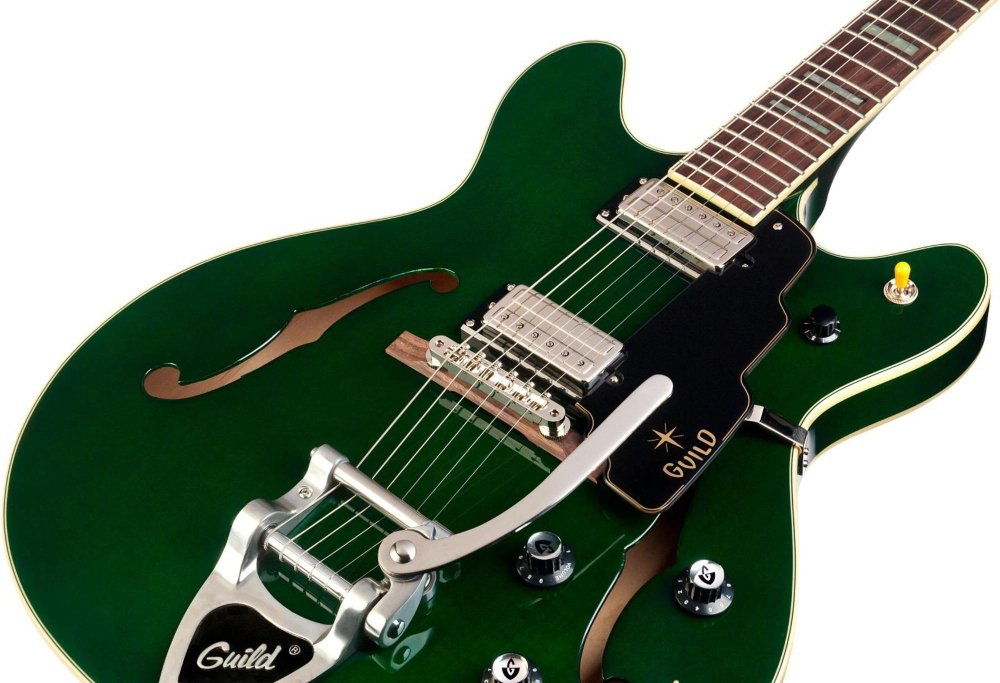 Hermandad Starfire V arce Semi hueca guitarra eléctrica,: Amazon.es: Instrumentos musicales