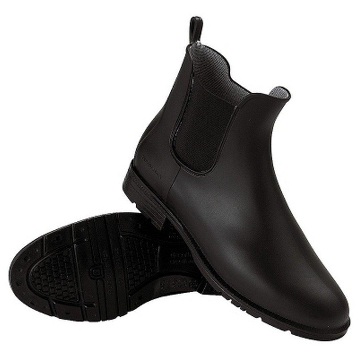 Fouganz Schooling Adult Child Horse Riding Jodhpur Boots Black Supple Waterproof