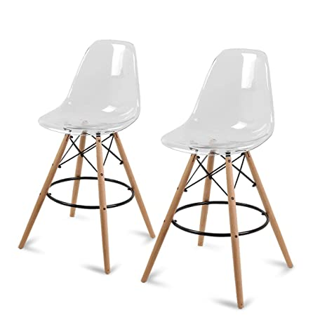 Amazon.com: Magshion - Juego de 2 sillas de bar para silla ...