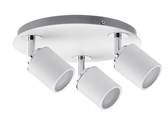 Plafoniere A Soffitto Gu10 : Paulmann spotlight tube ip rondell max w gu v in