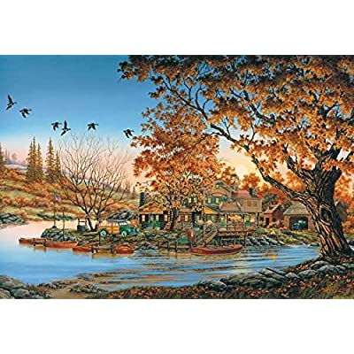 Hodge Podge Lodge A 2000 Piece Jigsaw Puzzle By Sunsout Inc By Sunsout