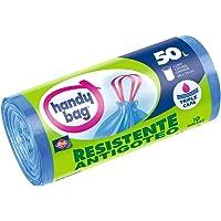Handy Bag Bolsas de basura antibacterias, 50 l